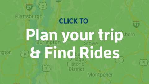 click to plan your trip and find rides